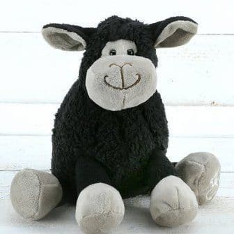Small Sitting Black Sheep (Jomanda)